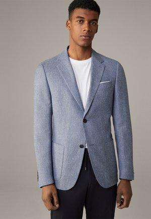 Blazer jacket - aqua  blau gemustert