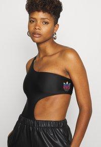 adidas Originals - SWIMSUIT - Swimsuit - black - 3