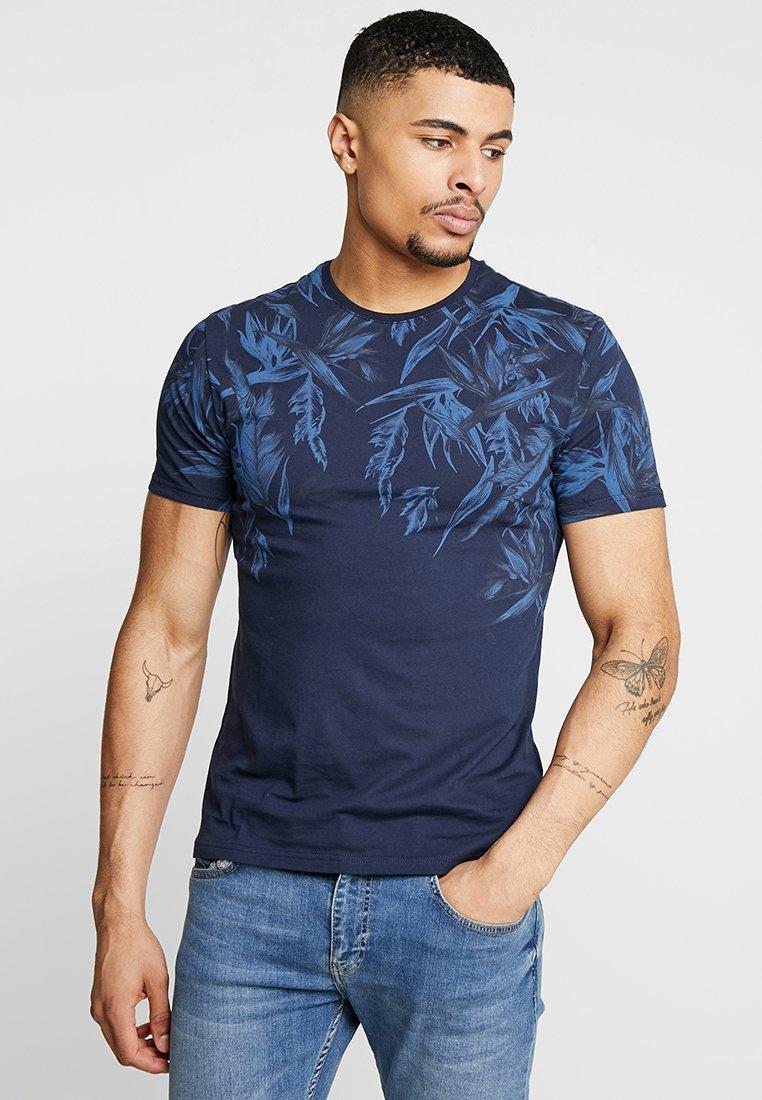Pier One - Print T-shirt - blue