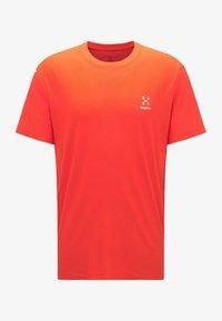 Haglöfs - L.I.M TECH TEE - Print T-shirt - orange - 4