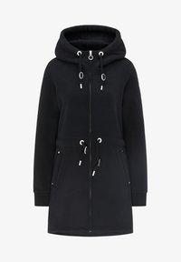 DreiMaster - Zip-up sweatshirt - schwarz - 4