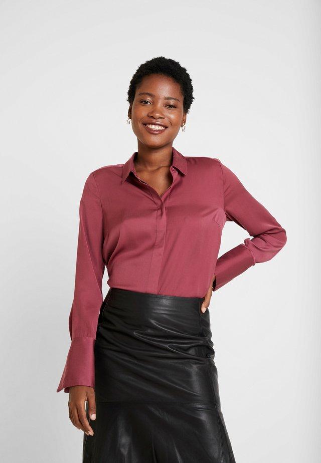RIO - Button-down blouse - maroon
