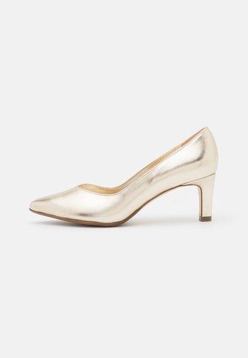 ULISSA - Classic heels - platin corfu
