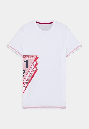 JUNIOR - Print T-shirt - true white
