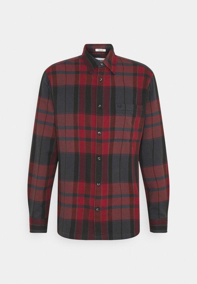 LS 1 PKT SHIRT - Shirt - black