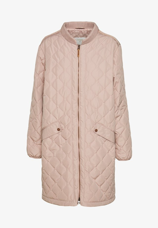 ARWEN - Short coat - adobe rose