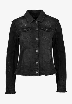Denim jacket - schwarz