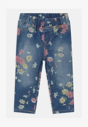 TODDLER GIRL DAISY - Slim fit jeans - blue denim