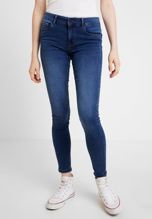 VMSEVEN SHAPE UP - Jeans Skinny Fit - medium blue denim