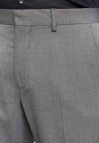 Selected Homme - SLHSLIM MYLOLOGAN SUIT - Oblek - dark grey melange - 6