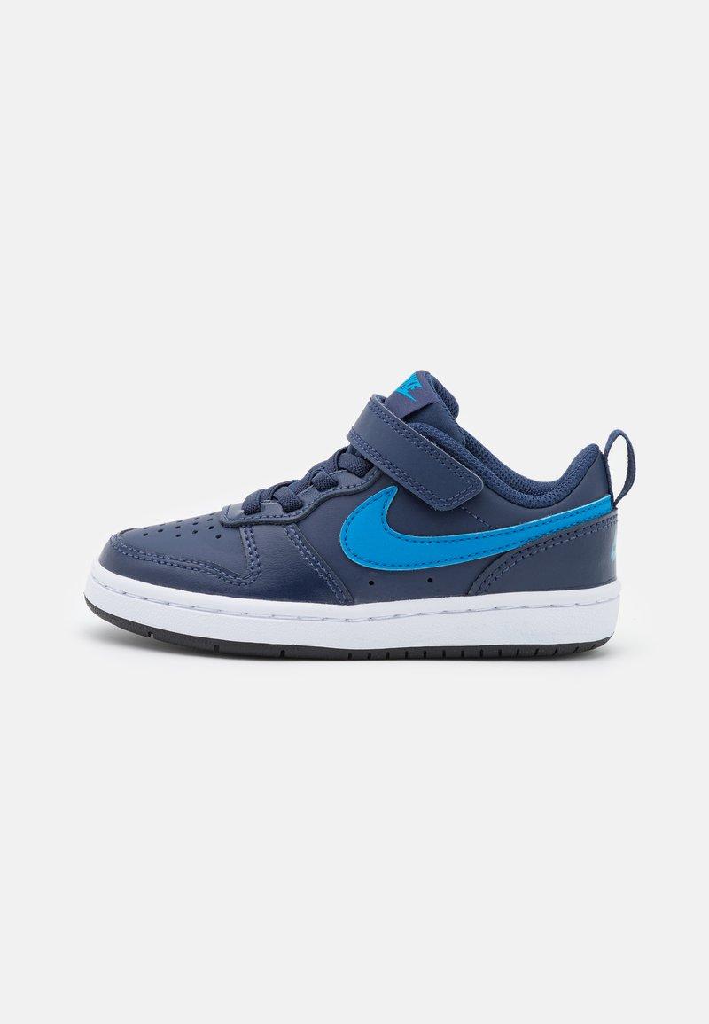 Nike Sportswear - COURT BOROUGH 2 UNISEX - Baskets basses - midnight navy/imperial blue/black
