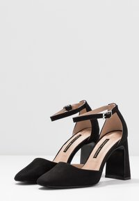Dorothy Perkins - DANDIE FLARED OPEN COURT - High heels - black - 4