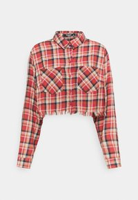 Missguided Petite - CROPPED RAW  - Button-down blouse - multi-coloured - 0