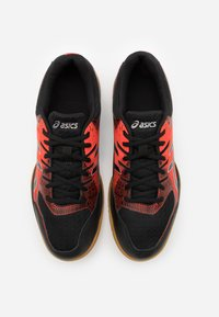 ASICS - GEL-ROCKET 9 - Volleyball shoes - black/fiery red - 3