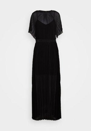 PLEATED MAXI DRESS - Occasion wear - black