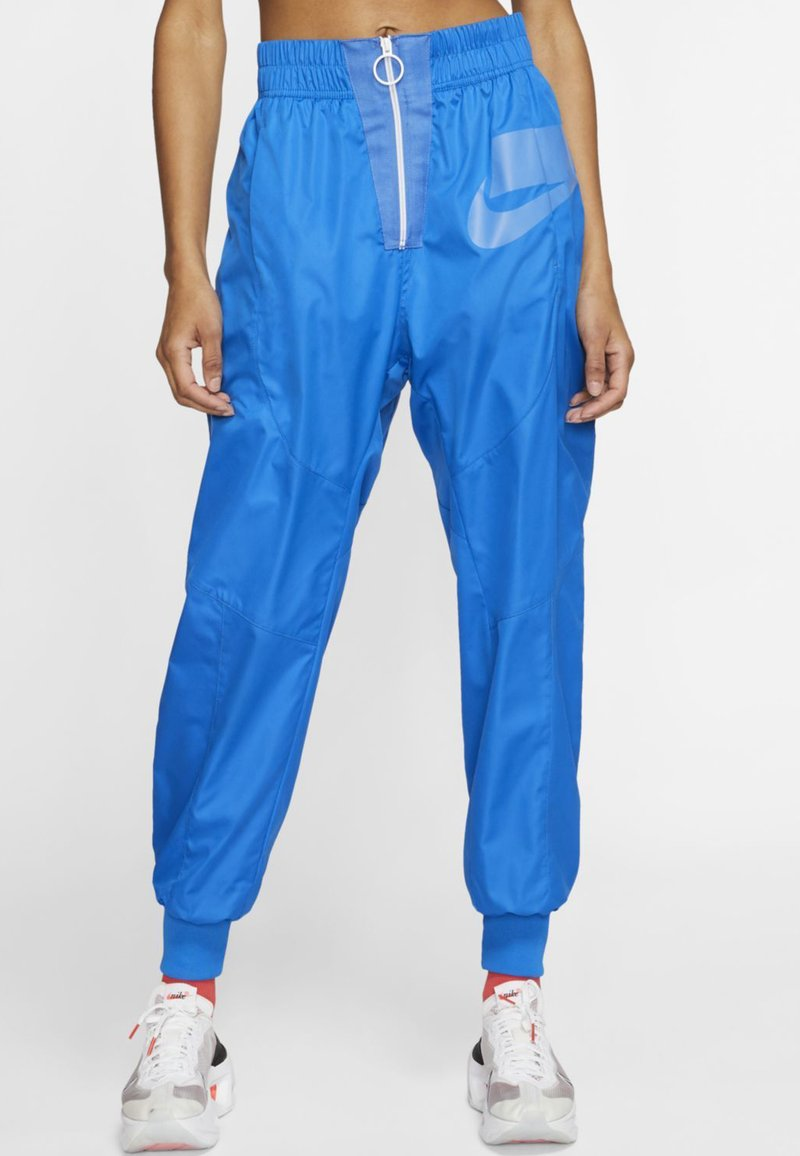 Nike Sportswear - Tracksuit bottoms - pacific blue/white