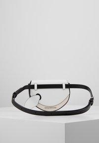 KARL LAGERFELD - IKONIK BUMBAG - Bæltetasker - black - 2