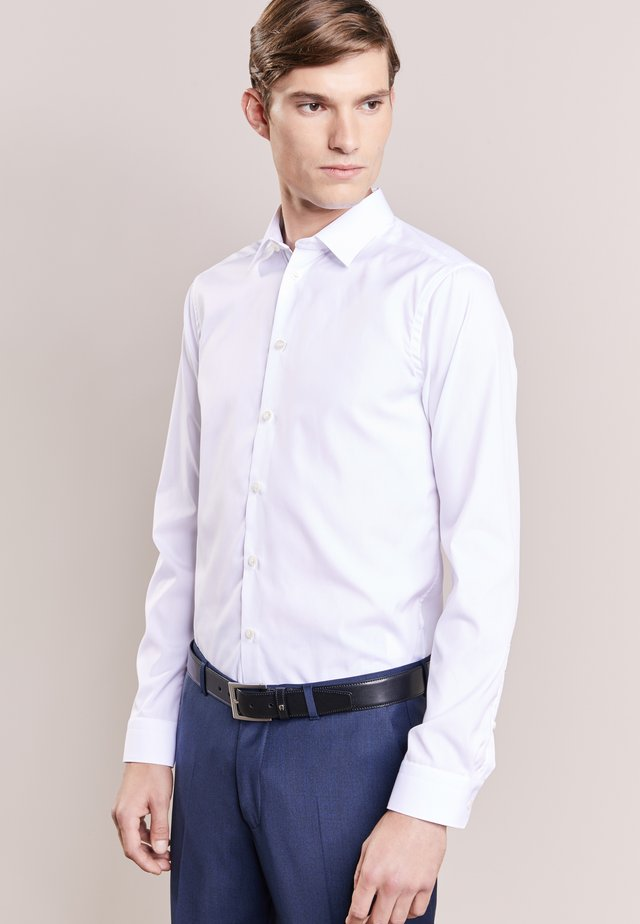 SUPER SLIM FIT - Camisa elegante - white