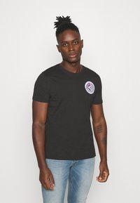Alpha Industries - T-shirt con stampa - black - 0