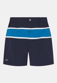 Lacoste - Badeshorts - navy blue/ibiza white - 0