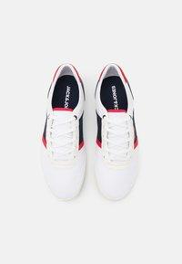 Jack & Jones - JFWLOGAN - Sneakers - white/navy/red - 3