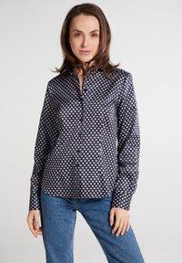 Eterna - Button-down blouse - marine - 0