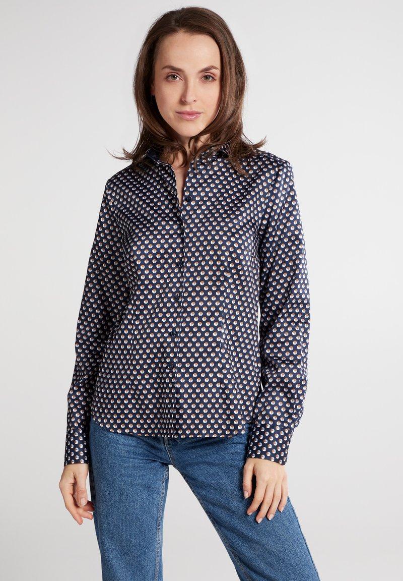 Eterna - Button-down blouse - marine