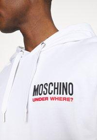 Moschino Underwear - HOODIE - Pyjamasoverdel - white - 5