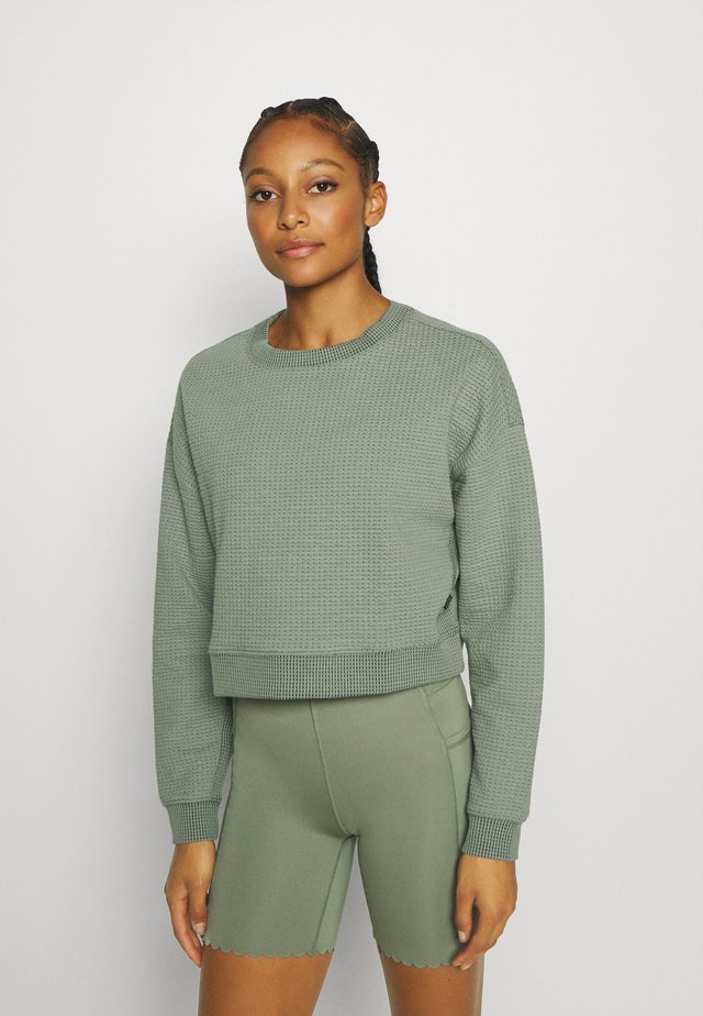 Sweatshirt - basil green