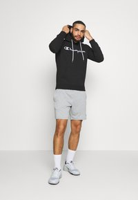 Champion - HOODED - Huppari - black - 1