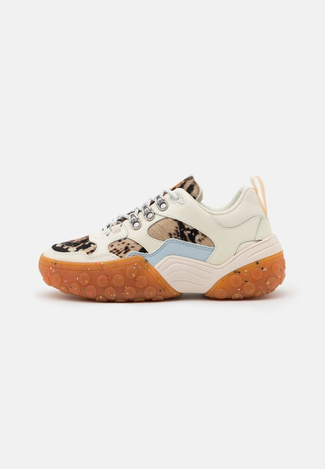 BELVA - Trainers - cream/multicolor