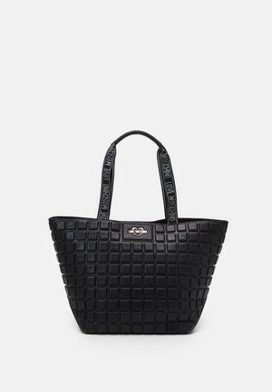 EMBOSSED SOFT - Handbag - nero