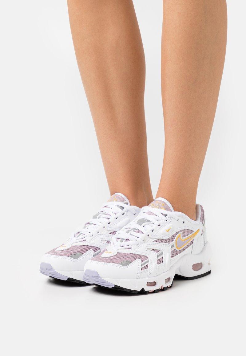Nike Sportswear - AIR MAX 96 - Baskets basses - white/purple dawn/plum fog/pink glaze/pollen/black