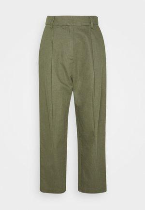 GALLOWAY TROUSER - Pantalones - army green