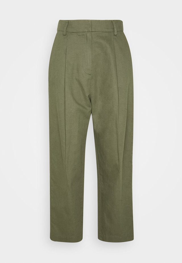 GALLOWAY TROUSER - Tygbyxor - army green