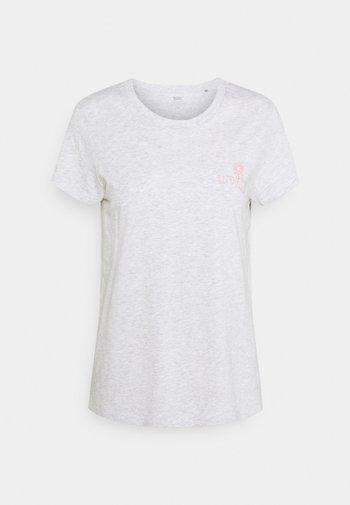 THE PERFECT TEE - Print T-shirt - orbit gray