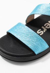 WONDERS - Sandaler - blue metallic - 2