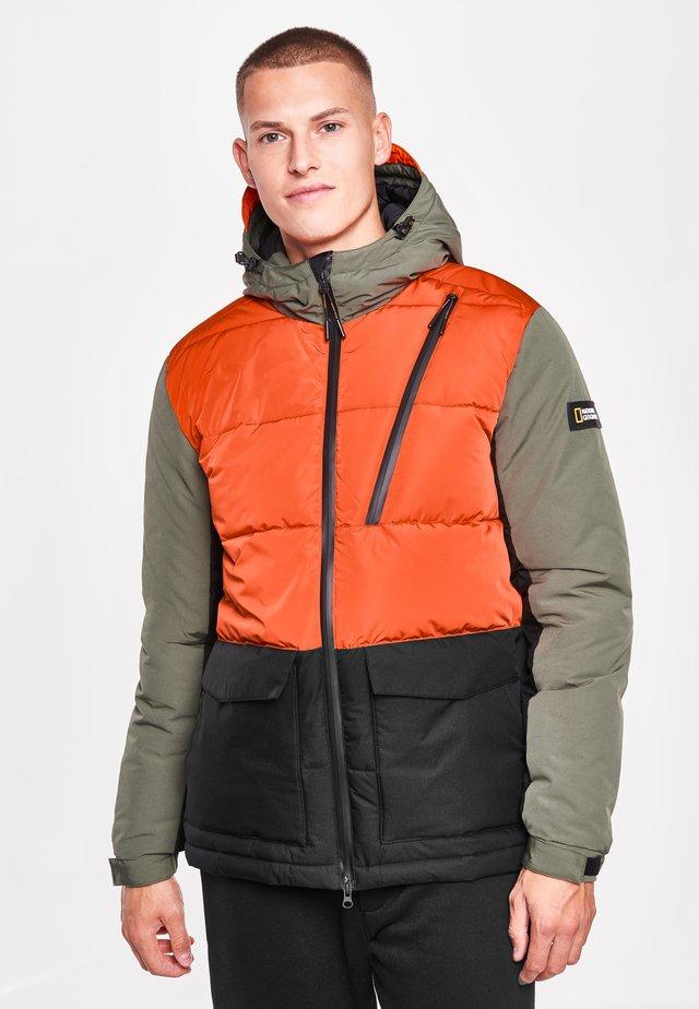 CITY ADVENTURER  - Winter jacket - thyme