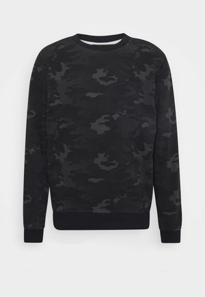 Sweatshirt - blackboard/grey