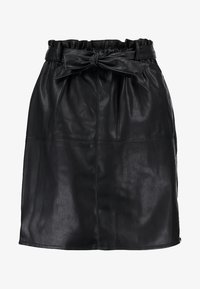 ONLY - Leather skirt - black - 4