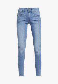G-Star - LYNN MID SUPER SKINNY  - Jeans Skinny Fit - sun faded blue - 4