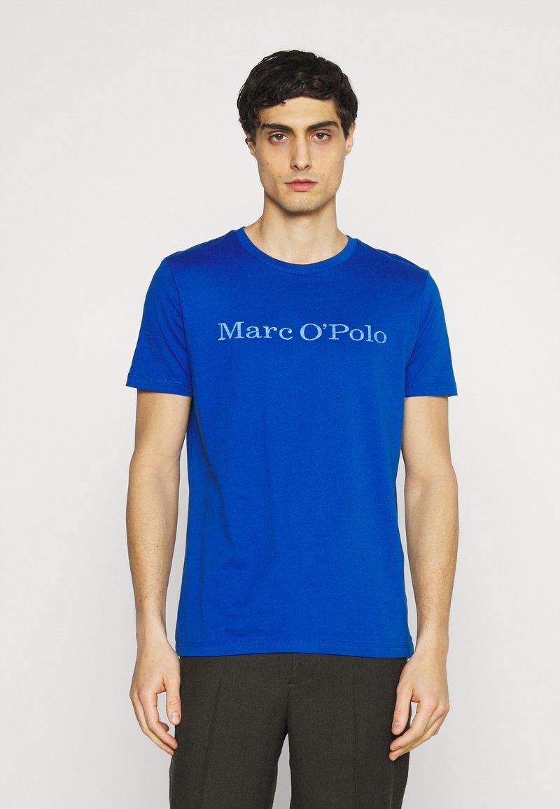 Marc O'Polo - SHORT SLEEVE - Print T-shirt - blue