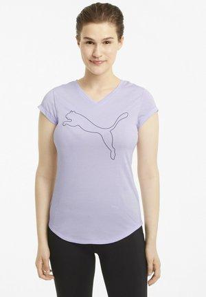 T-shirts print - light lavender heather