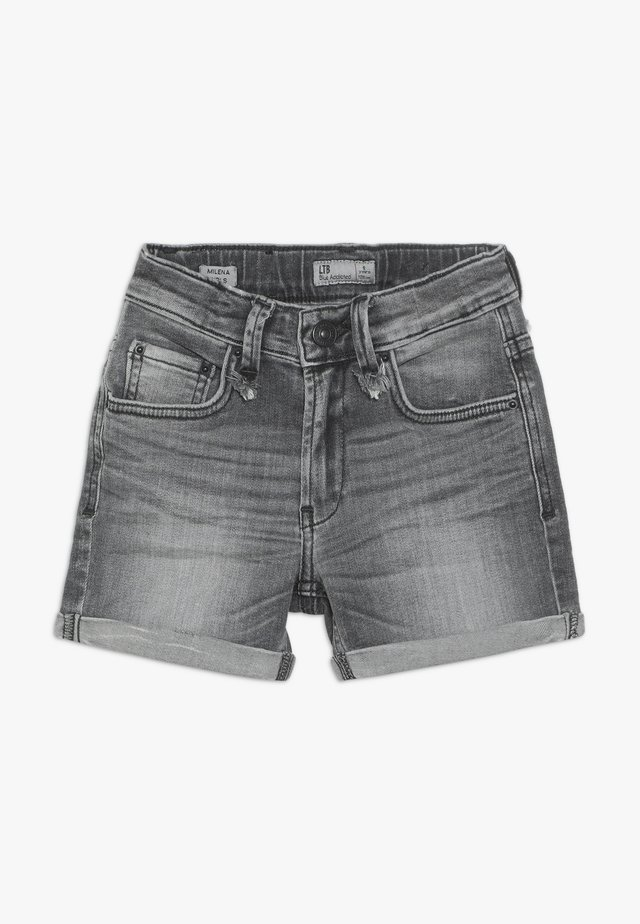 MILENA - Denim shorts - hegna wash