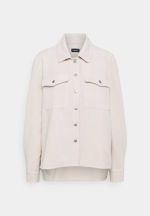 PCSTEFFI CORDUROY  - Summer jacket - birch