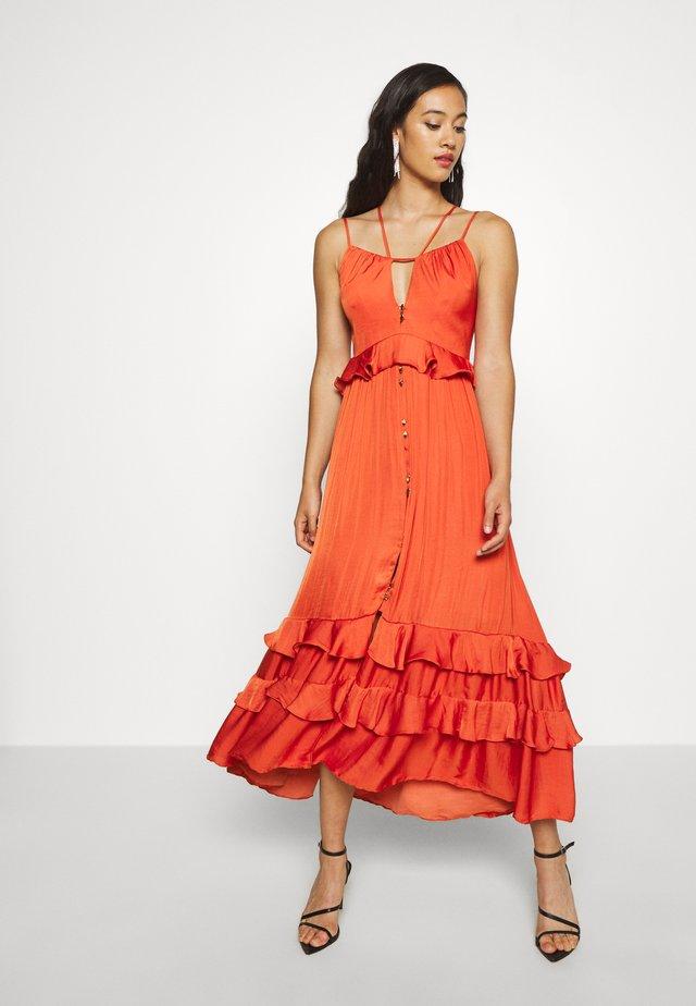 STRAP DETAIL - Vestito estivo - orange