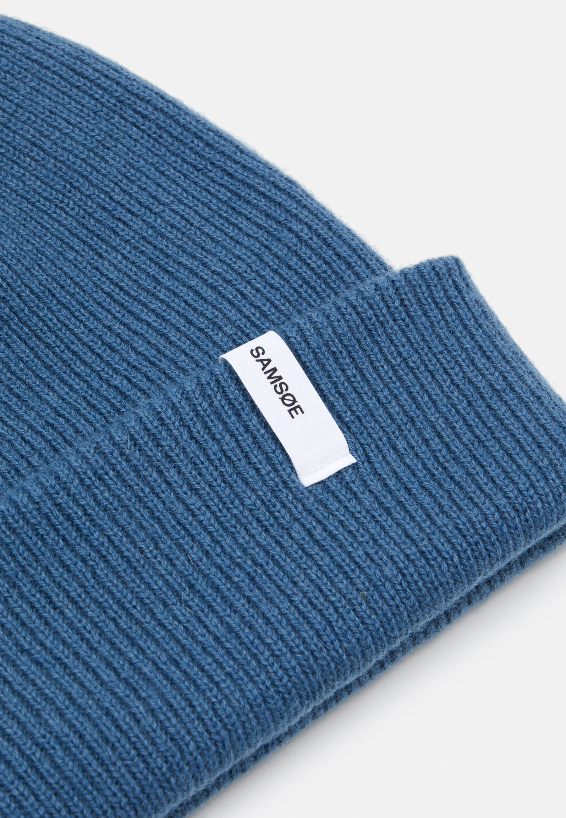 Samsøe Samsøe THE BEANIE  - Mütze - real teal/blau - Herrenaccessoires jKPid