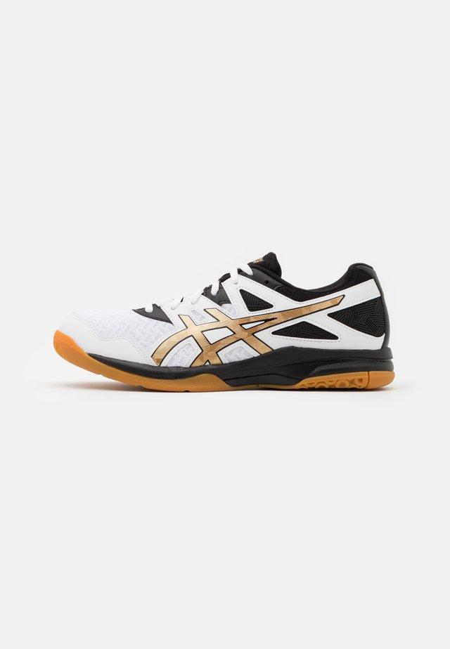 GEL-TASK 2 - Handball shoes - white/pure gold
