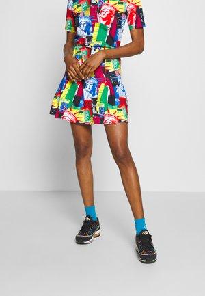 TENNIS SKIRT - A-line skirt - blue multi