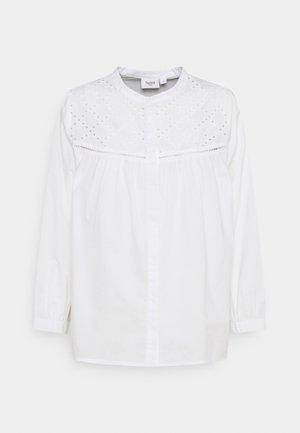 GLENIA - Blouse - bright white